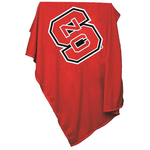 Our North Carolina State University Team Logo Sweatshirt Blanket is on sale now.