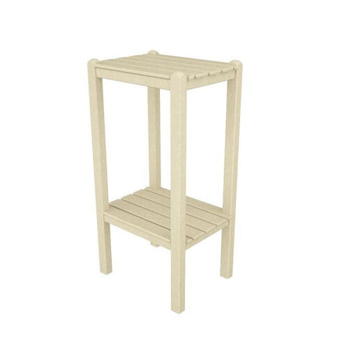 Our POLYWOOD® Bar Side Table - Sand is on sale now.