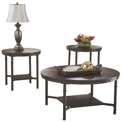 Our Signature Design by Ashley Sandling 3 Piece Occasional Table Set is on sale now.