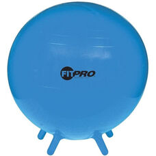 55 cm. FitPro Balls with Stability Legs in Blue