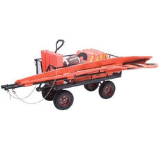 Multi-Purpose Steel Equipment Wagon with Casters