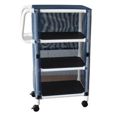Mini Cart - Three Shelves with Mesh Cover and Casters - 20