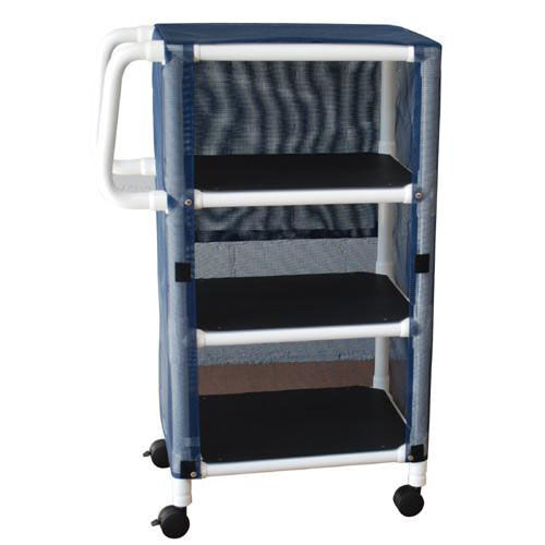 Our Mini Cart - Three Shelves with Mesh Cover and Casters - 20
