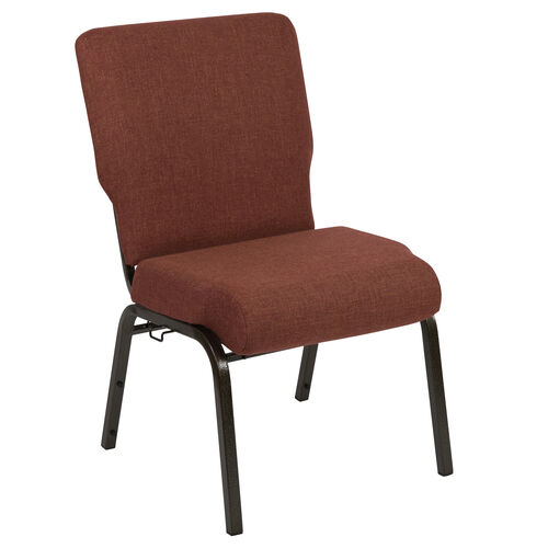 Our Advantage 20.5 in. Cinnamon Molded Foam Church Chair with Book Rack is on sale now.