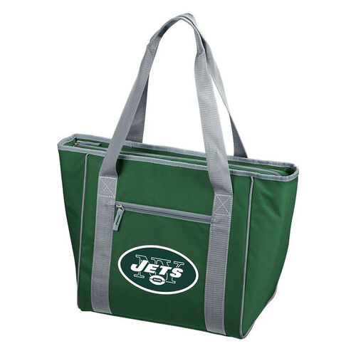 Our New York Jets Team Logo 30 Can Cooler is on sale now.
