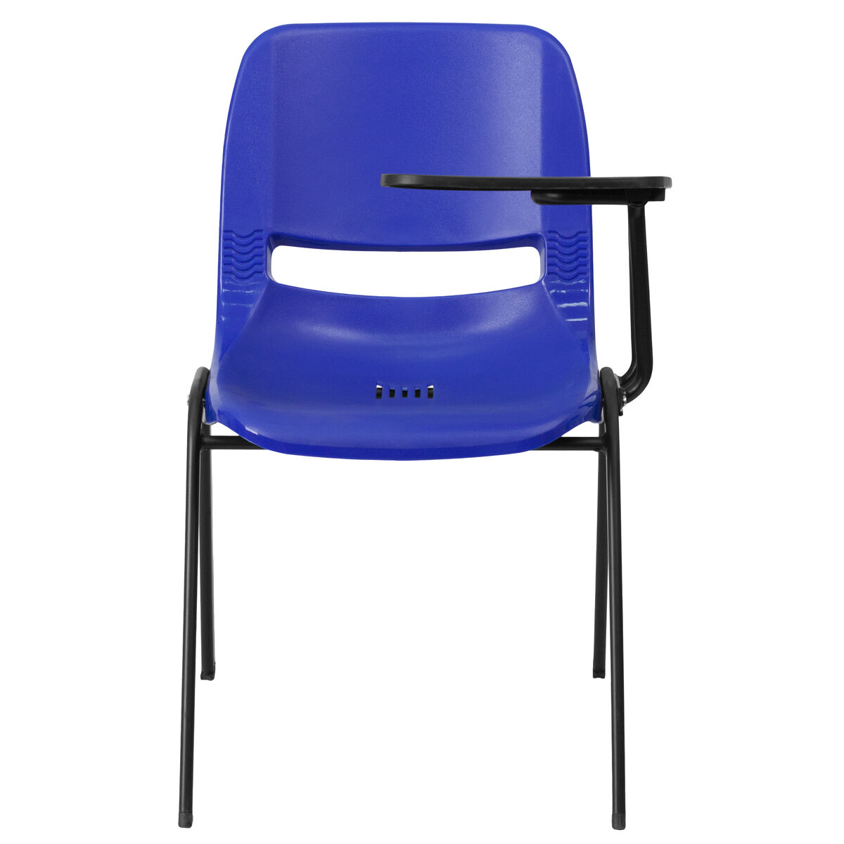 Phenomenal Blue Ergonomic Shell Chair With Left Handed Flip Up Tablet Arm Pdpeps Interior Chair Design Pdpepsorg