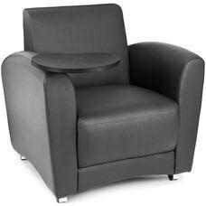 InterPlay Tablet Black Chair - Tungsten Finish