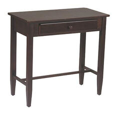 OSP Designs Foyer Table with Storage Drawer - Espresso