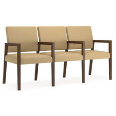Brooklyn Series 3 Seat Sofa with Center Arms