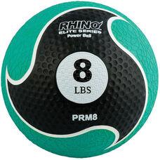 8 lbs. Rhino Elite Medicine Ball in Green