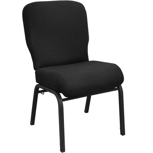 Our Advantage Signature Elite Black Church Chair - 20 in. Wide is on sale now.