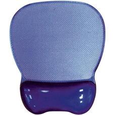 Crystal Transparent Gel Mouse Pad Wrist Rest - Purple