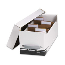 Fellowes® Corrugated Media File - Holds 125 Diskettes/35 Std. Cases