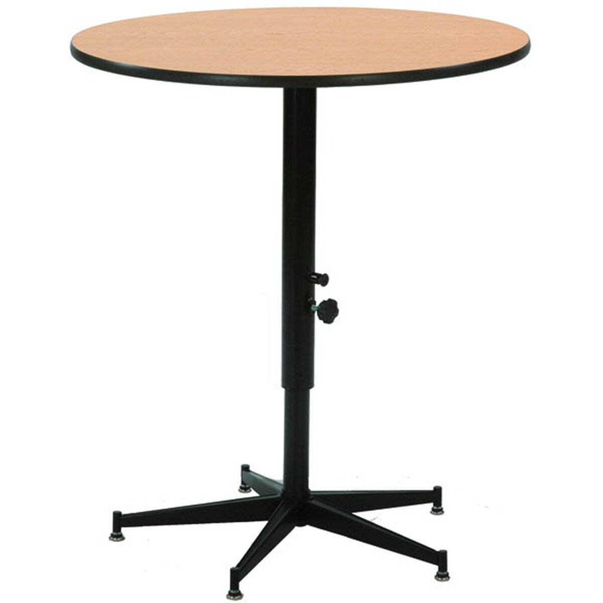 Plastic tri height cocktail table acr24ef for Height of cocktail tables