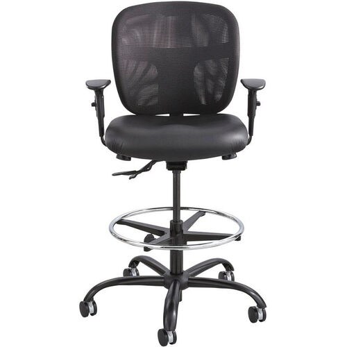 Our Vue™ Armless Heavy Duty Stool with Breathable Mesh Back - Black Vinyl is on sale now.