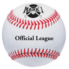 Mark 1 Official League Baseballs - 1 Dozen