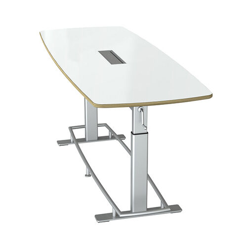Our Focal™ Confluence Table 8 - White Dry Erase Markerboard is on sale now.