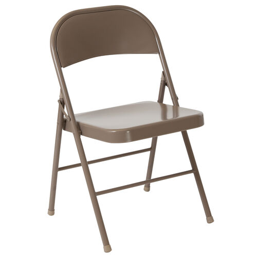 Our HERCULES Series Double Braced Beige Metal Folding Chair is on sale now.
