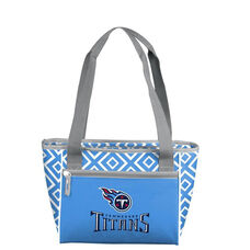 Tennessee Titans Team Logo Double Diamond 16 Can Cooler
