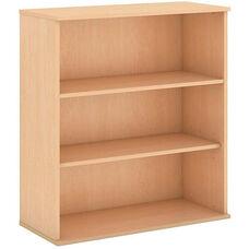 48'' H Three Shelf Bookcase - Natural Maple