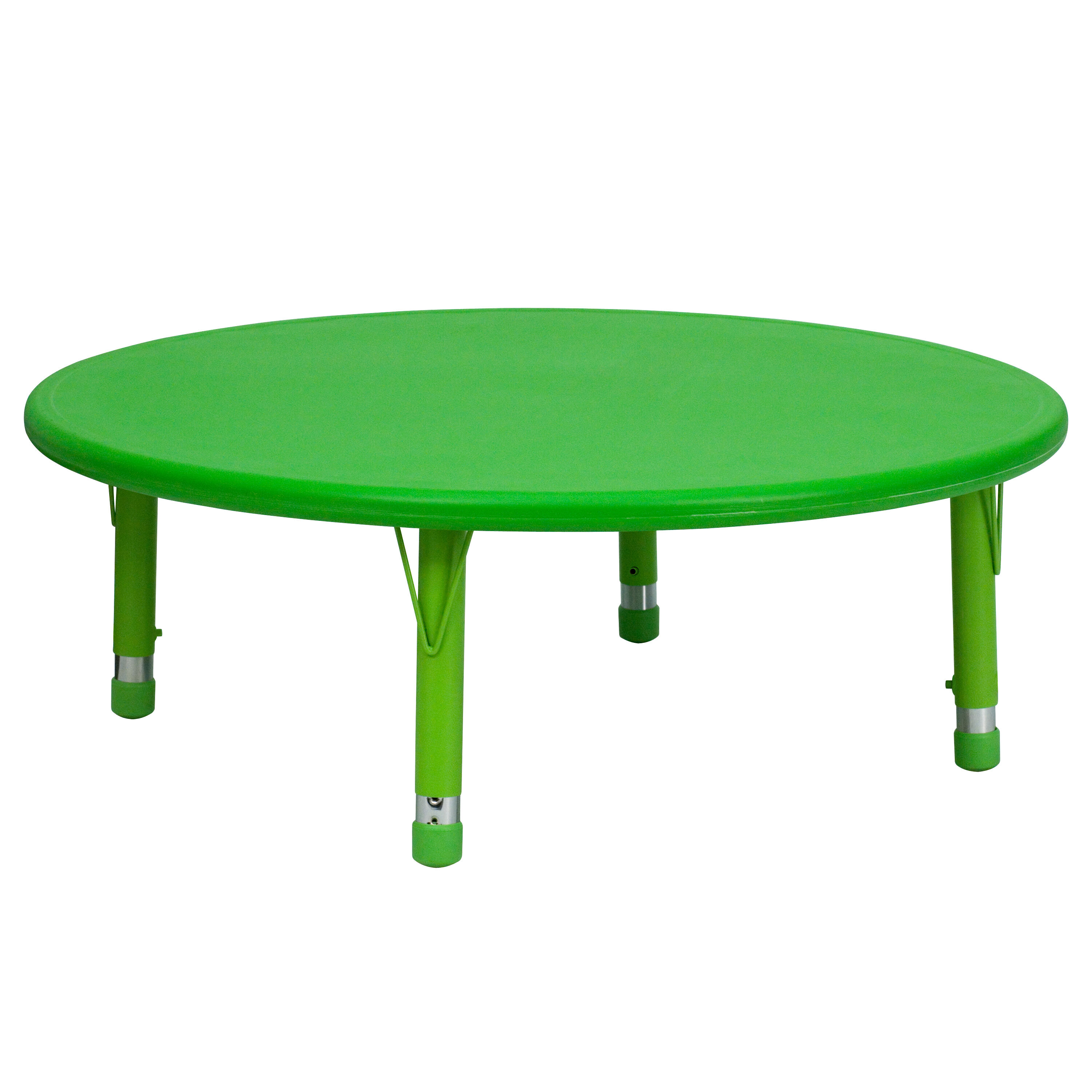 ... Our 45u0027u0027 Round Green Plastic Height Adjustable Activity Table Is On  Sale Now.