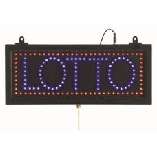 High Visibility LED LOTTO Sign - 6.75