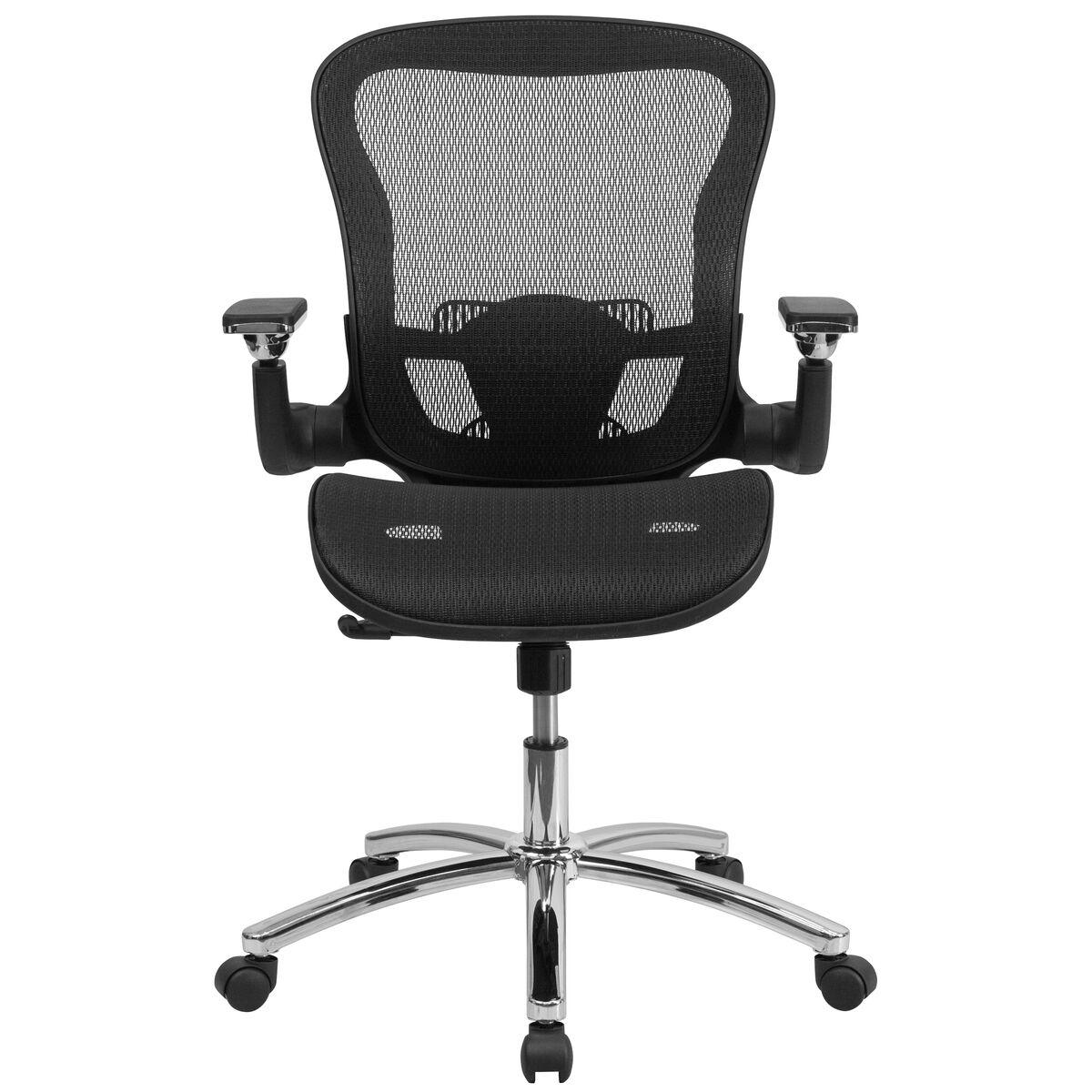 Black Mid Back Mesh Chair Go Wy 87 Gg Bizchair Com