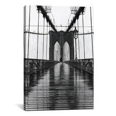 Brooklyn Bridge (New York City) by Christopher Bliss Oversized Gallery Wrapped Canvas Artwork - 40