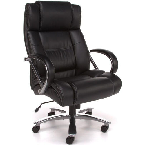 Our Avenger 500 lb Capacity Big & Tall Executive High-Back Chair - Black is on sale now.