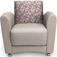 InterPlay Chair - Plum and Taupe