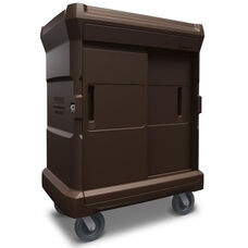 ChuckWagon Junior Food Tray Delivery System - Brown