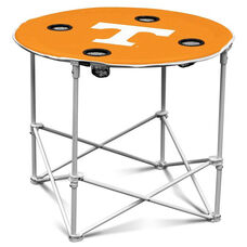 University of Tennessee Team Logo Round Folding Table