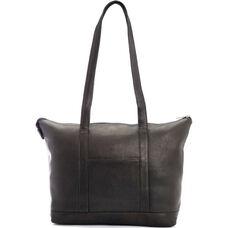 Luxury Travel Weekender Duffel Bag - Genuine Colombian Leather - Black