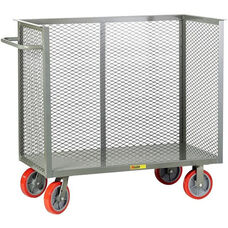 Steel Frame Bulk Truck with 3 Enclosed Perforated Sides - 24