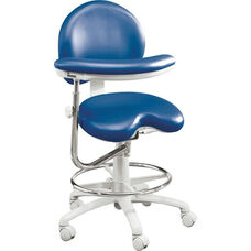 EG-9000 Series - Assistant Stool with Stitched Upholstery