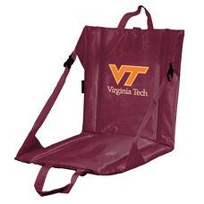 Virginia Tech Team Logo Bi-Fold Stadium Seat