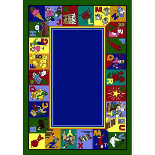 Our My Favorite Rhymes Rug is on sale now.