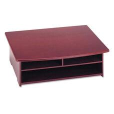Rolodex™ Wood Tones Printer Stand - 21 x 18 - Mahogany