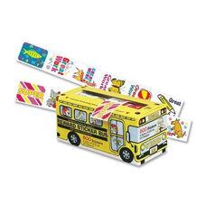 Pacon Bus Reward Stickers - Self Adhev - 1