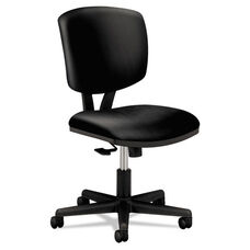 HON® Volt Series Task Chair with Synchro-Tilt - Black Leather