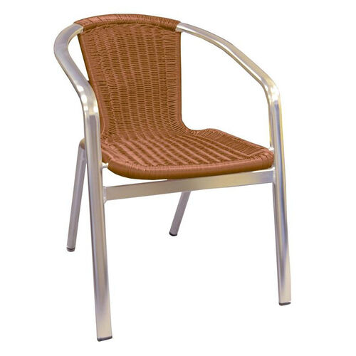 Our Aluminum Chair with Simulated Wicker is on sale now.