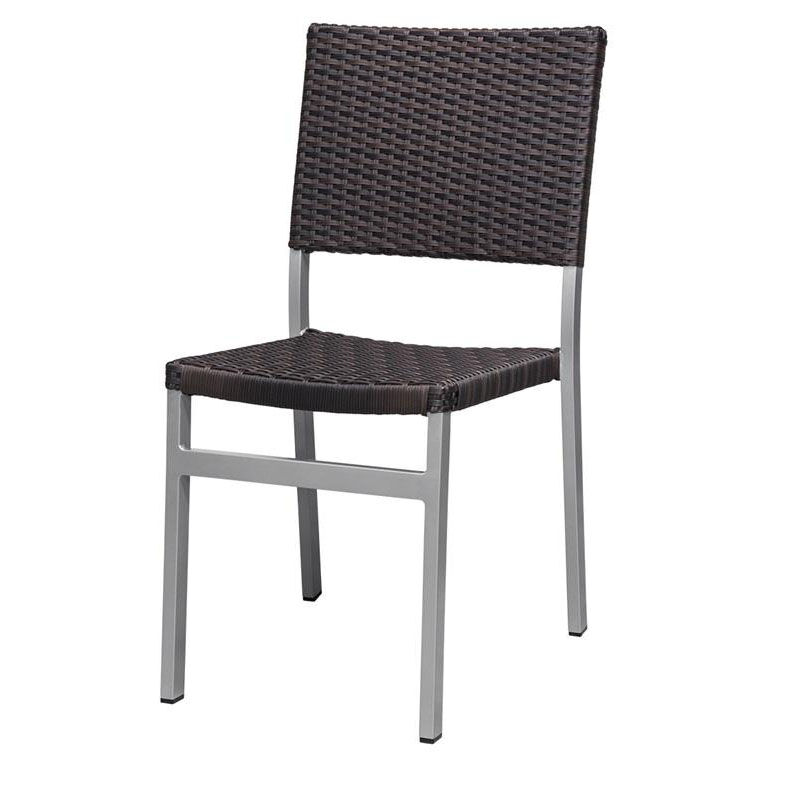 ... Our Fiji Dining Armless Side Chair With Powder Coated Aluminum Frame    Espresso Is On Sale ...