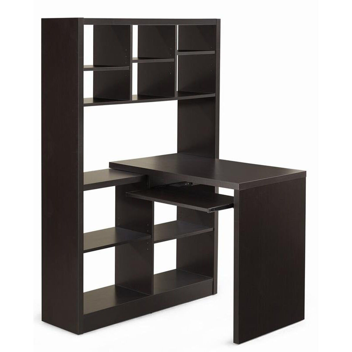 Image of: Office Corner Shelf Throughout Three Shelf Corner Bookcase pl161 Classic Series Bookcases