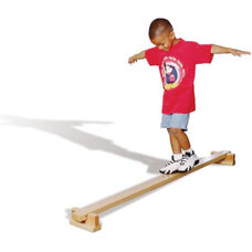 Solid Maple Wood Balance Beam - Assembled - 72