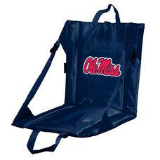 University of Mississippi Team Logo Bi-Fold Stadium Seat