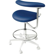 DX-300 Series - Assistant Stool with Stitched Upholstery