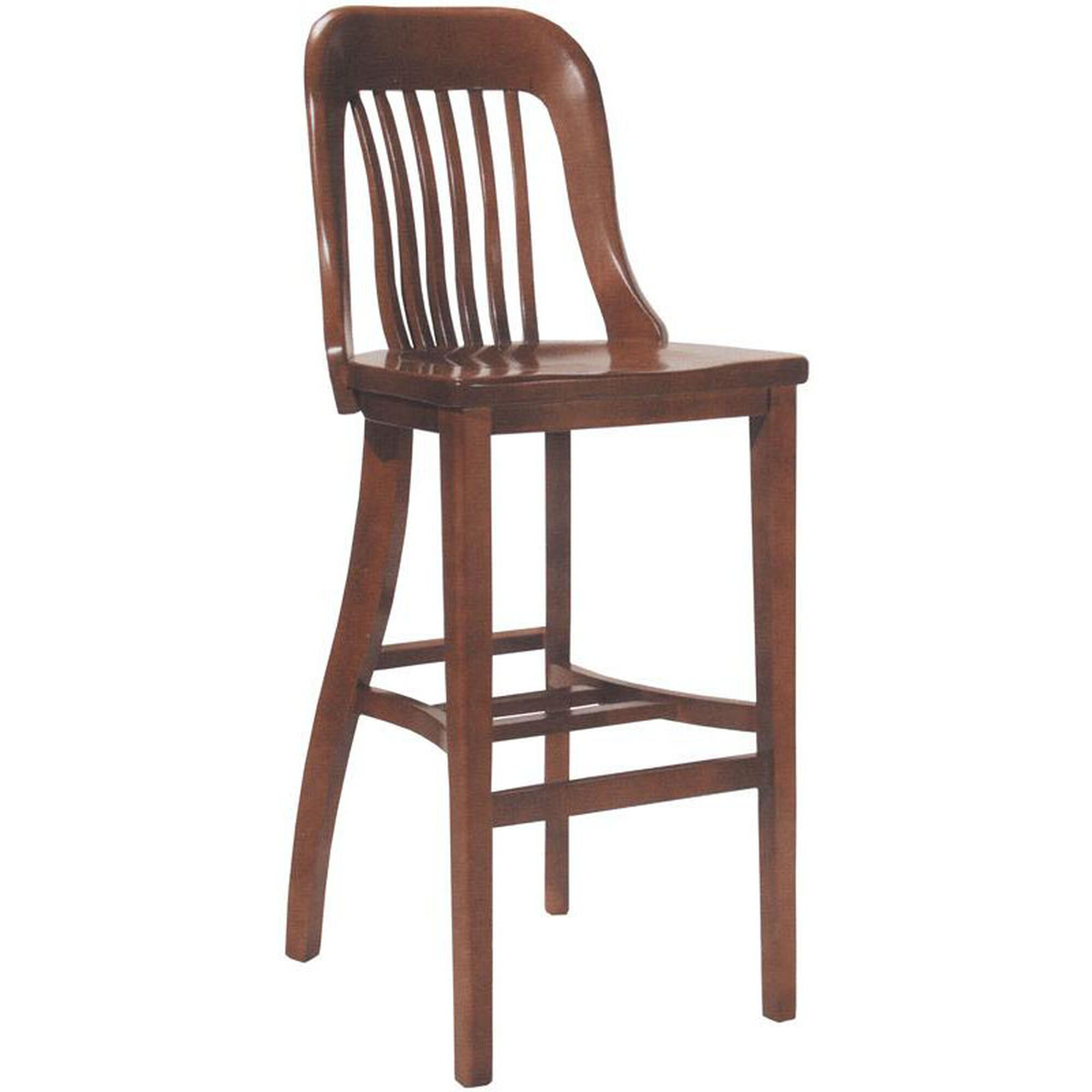Wood Saddle Seat Barstool 6891 Bizchair Com
