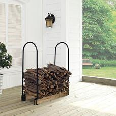 Hartman Adjustable Firewood Storage Rack - Black