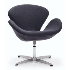 Pori Occasional Chair in Iron Gray