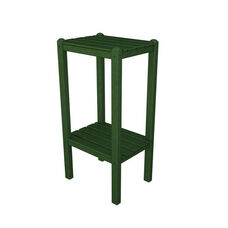 POLYWOOD® Bar Side Table - Green